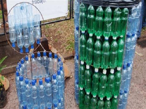 reciclaje de botellas plasticas pet manualidades escoba youtube garbage bins with bottles kids love ecology 9a