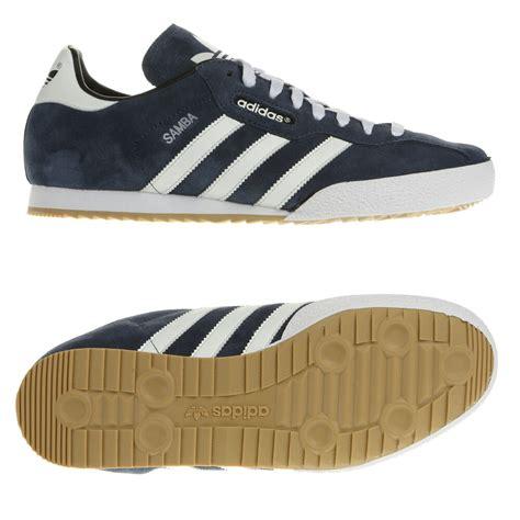 adidas originals mens samba suede size 7 8 8 5 9 10 11 12 trainers shoes blue ebay