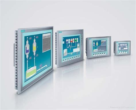 sell industrial automation siemens plc touch panel 6av6