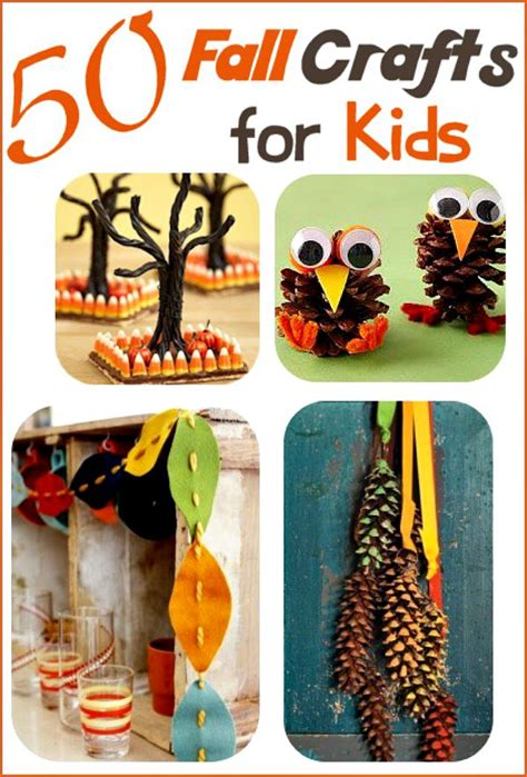 fall craft projects for fall crafts for 50 ideas your family will