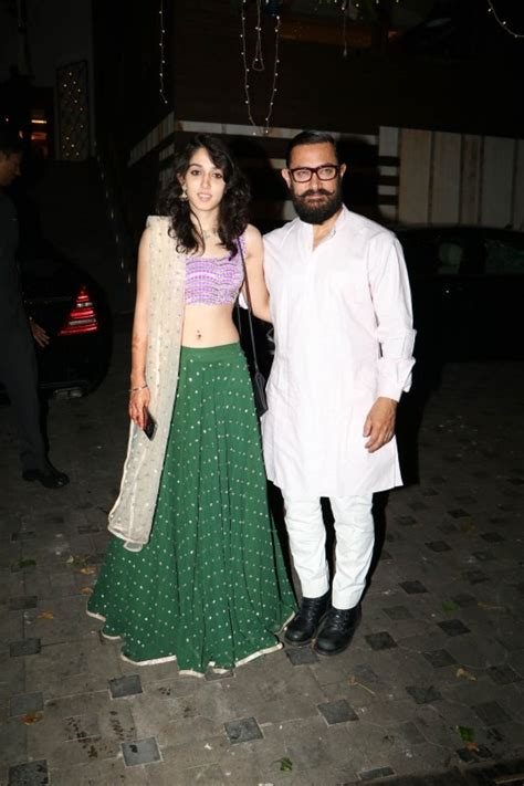 aamir khan home aamir khan and family spotted at imran khan s house for