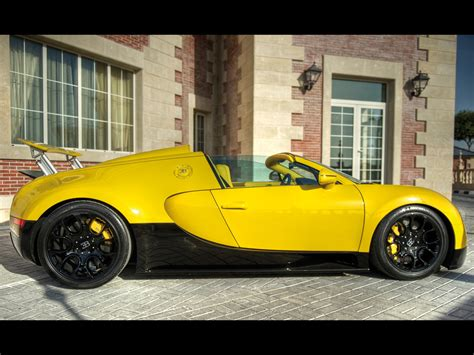 yellow bugatti bugatti veyron yellow and black