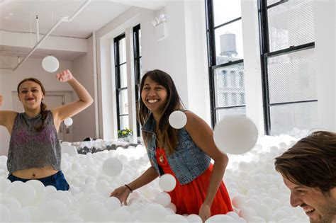 jump into the light new york ny 10002 giant jump in ball pit for grownups comes to new york ny