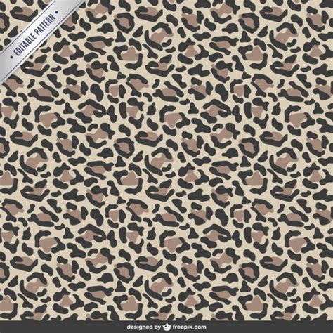 Animal print pattern vector free download