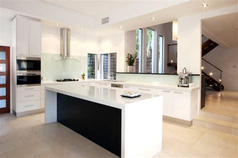 San Antonio Kitchen Cabinets by Waterfall Island