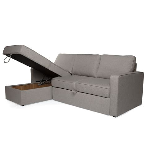 sectional sofa with storage and sleeper small sectional sleeper with storage