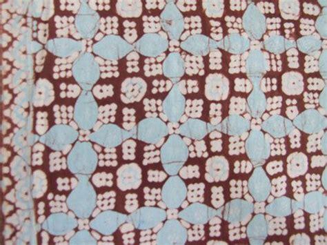 pattern wax adalah nitik kawung kacik batik tulis indonesia pinterest