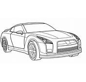 Cadillac GT R Coloring Page  Car Pages