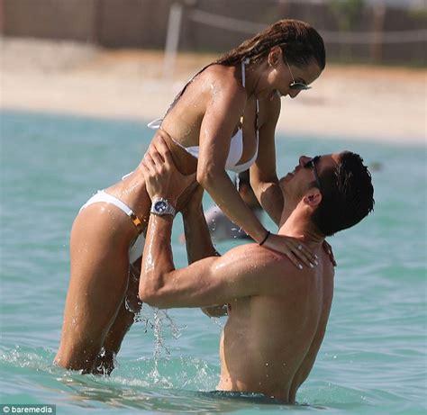 Bed With Tv Lift Liverpool Goalkeeper Brad Jones And Girlfriend Dani