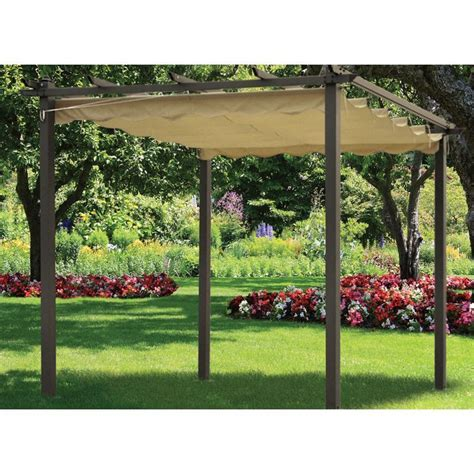 Siena Pergola Replacement Cover Beige Buy Online At Qd Pergola Replacement Covers