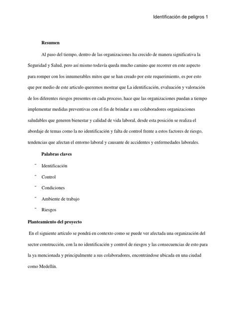 Proyecto Fase 2 | Seguridad y salud ocupacional | Bienestar