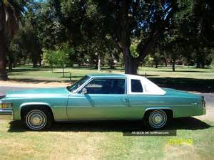 1978 Cadillac Sedan 1978 Cadillac D Elegance Coupe 2 Door 7 0l