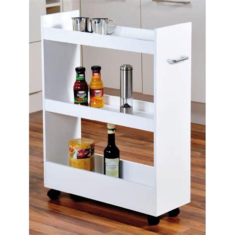 meuble cuisine a meuble de rangement pour cuisine 224 roulettes renforts en bois easydistri