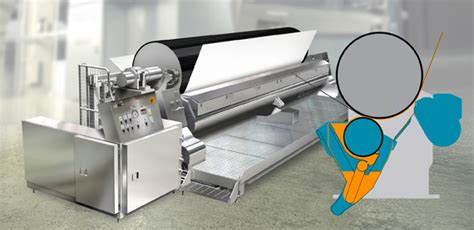 board and paper machines roll blade coating