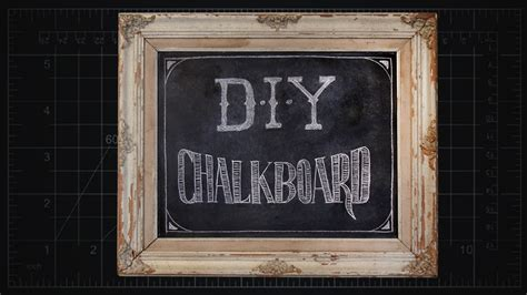 diy chalkboard with picture frame custom chalkboard in frame diy