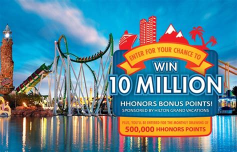 Hilton Hhonors Sweepstakes - win 10 million hilton hhonors bonus points on hgvcsweeps com sweepstakesbible