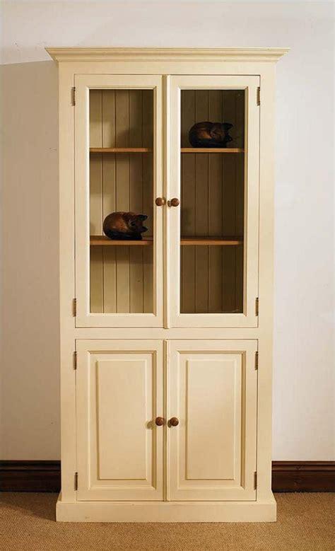 Glazed Bookcases mottisfont painted glazed bookcase