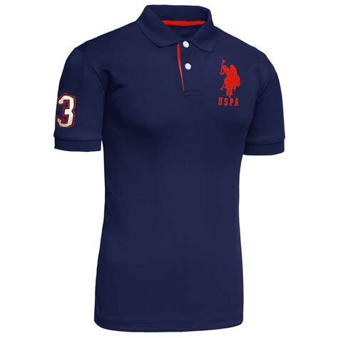Branded Shirt New Mens Us Polo Assn 2017 Design Tshirt Top Coloured
