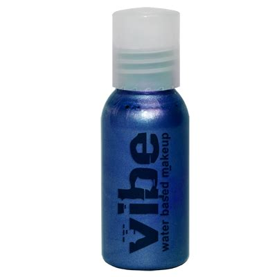 4oz blue vibe paint water vibe water based make up european air brush