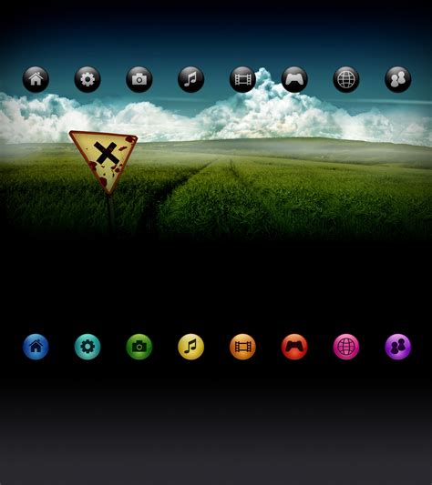 psp themes black sfere playstation 3 themes by javierocasio on deviantart