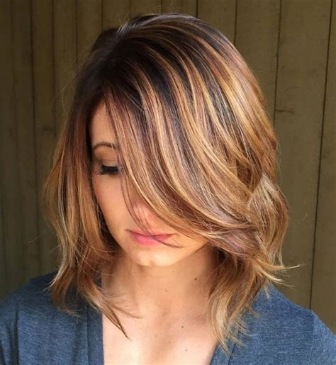 medium length hairstyles for thick wavy hair oval 90 sensational medium length haircuts for thick hair in 2017