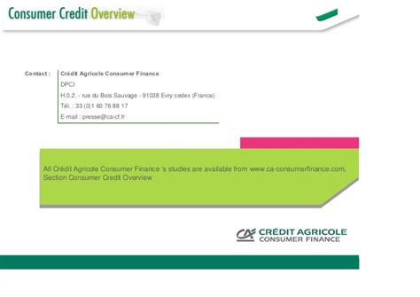 ca consumer finance cacf evry siege consumer credit worldwide