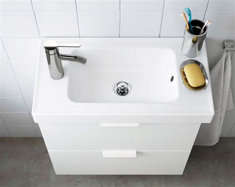 Meuble salle de bain Ikea Godmorgon / Hagaviken   Meuble