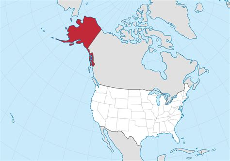map of united states including alaska map of the united states showing alaska and hawaii