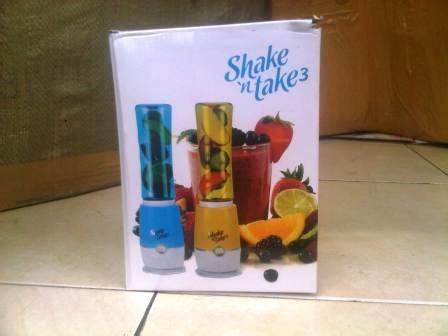 Shake N Take 1 Blender Juice Praktis Blender Unik perlengkapan anak blender makanan bayi shake n take juicer mini praktis