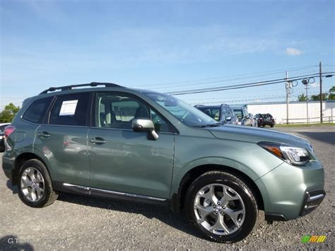 2017 Green Metallic Subaru Forester 2 5i Touring