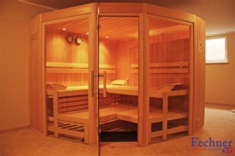 Sauna Mit Glas by Designsauna Fechner Klima Sauna