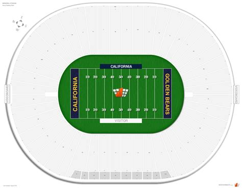 Stadium Seating by Memorial Stadium Cal Seating Guide Rateyourseats