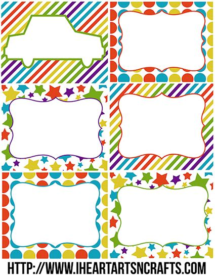 Toy Bin Labels Print Customize With Sharpie I Heart Arts N Crafts Bin Labels Template