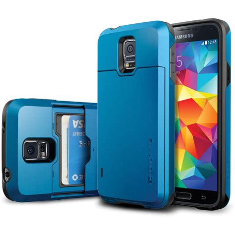 New Spigen Armor Shockproof For Samsung S5 S5 spigen slim armor cs for galaxy s5 electric blue sgp10993