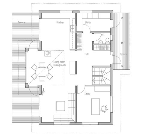 small affordable house plans small house ch19 with affordable building budget house plan