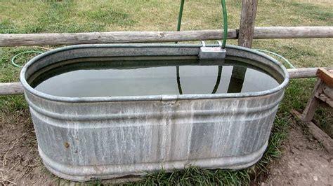 Galerry livestock water trough