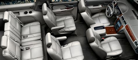 chevrolet suburban 8 seater interior chevrolet suburbans limo