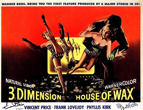 house of wax movie house of wax 3d landscape 3d b movie posters
