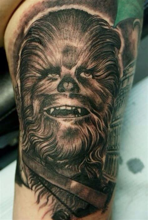 chewbacca tattoo pin by shoechick on tattoos