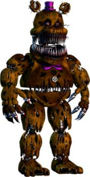 Gotta say that out of all the games fredbear and nightmare are my