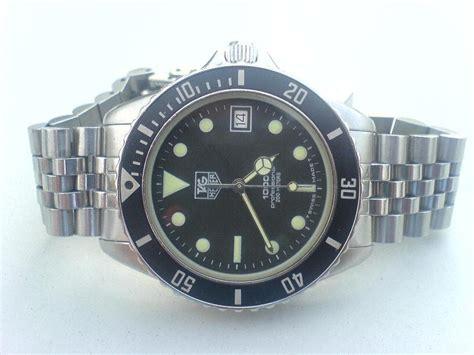 Jam Tangan Tag Heuer Kuno jam tangan kuno tag heuer 1000 proffesional diver 200m sold