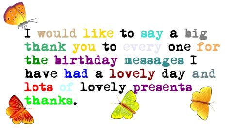 Saying Thank You For Birthday Wishes Quotes 25 Cool Thank You Quotes Picshunger