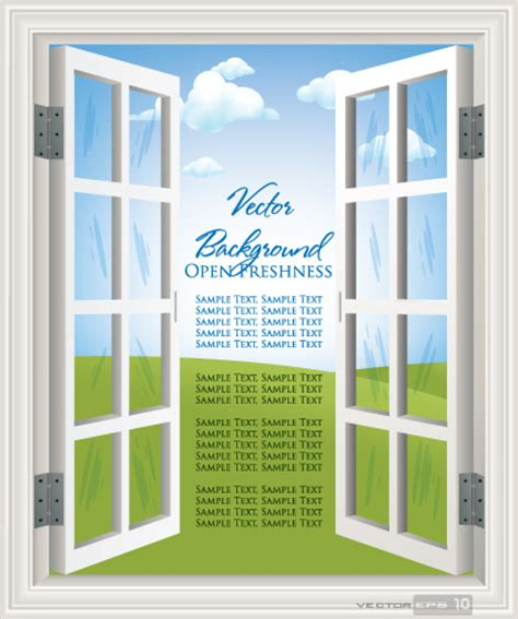 Different Windows Designs Different Plastic Window Design Elements Vector Free Vector In Encapsulated Postscript Eps