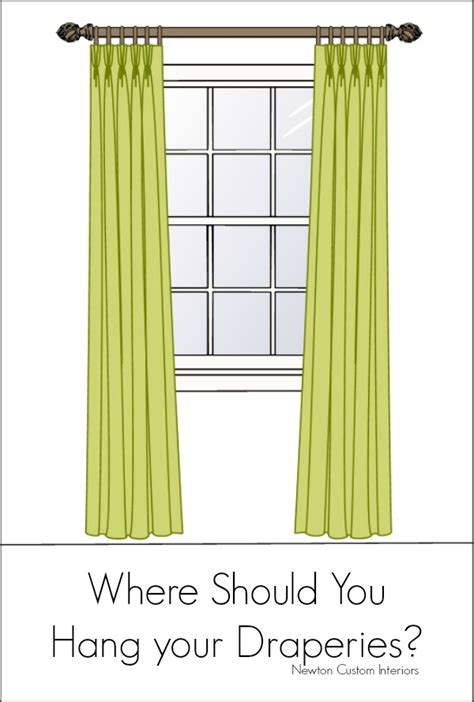 how do you hang curtains 5 ways to customize store bought curtains newton custom