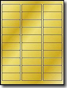 1 x 2 5 8 label template 3 000 gold foil labels 2 5 8 x 1 laser only use uline s