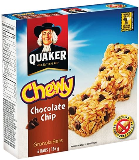 $0.86 (Reg $2.50) Quaker Chewy Granola Bars at Kroger