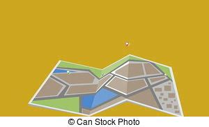 navigation city map and icons animation stock animation navigation city map and icons animation