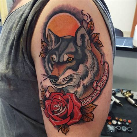 best 25 wolf traditional ideas on