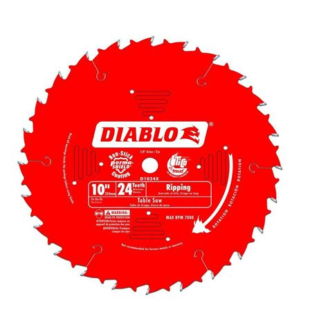 freud table saw blades freud d1024x diablo 10 inch 24t atb ripping table saw