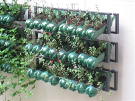 vertical gardening with recyclables n grow it
